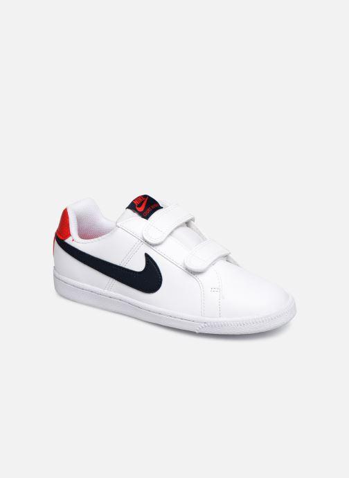 Skor Barn T83o6 | Nike Court Royale (Psv) Pure PlatinumHot