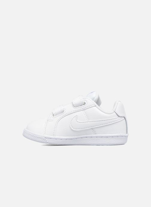 Deportivas Nike Nike Court Royale (Tdv) Blanco vista de frente