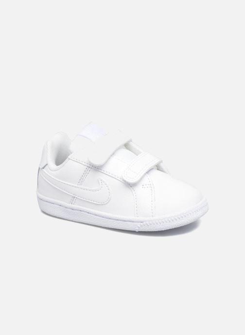 Baskets Nike Nike Court Royale (Tdv) Blanc vue détail/paire