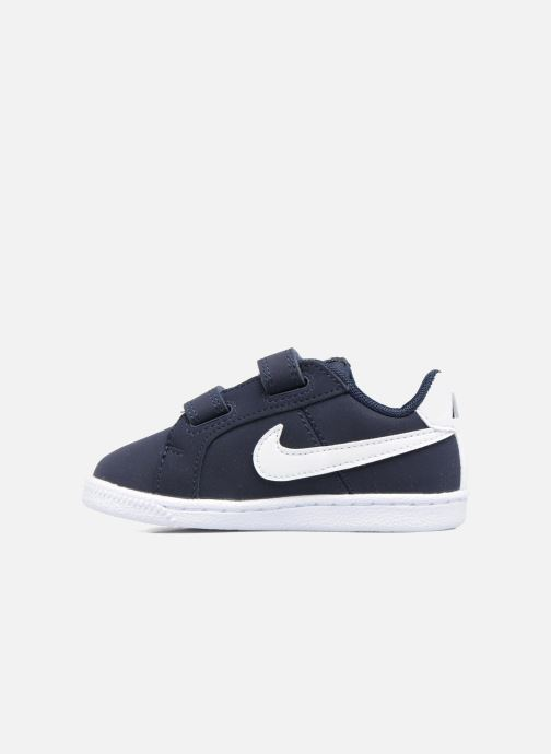 Trainers Nike Nike Court Royale (Tdv) Blue front view