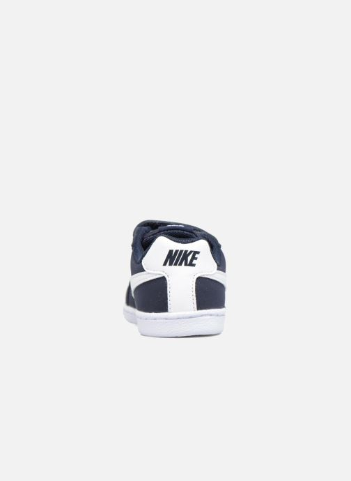Deportivas Nike Nike Court Royale (Tdv) Azul vista lateral derecha