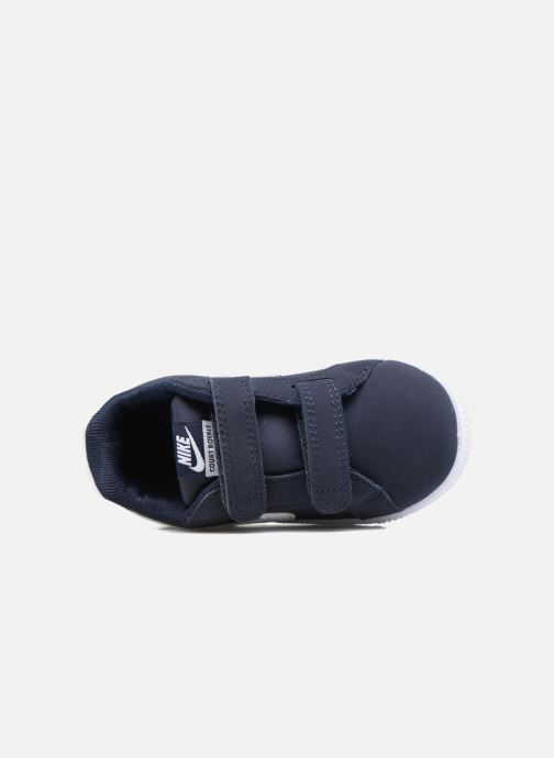 Sneakers Nike Nike Court Royale (Tdv) Azzurro immagine sinistra