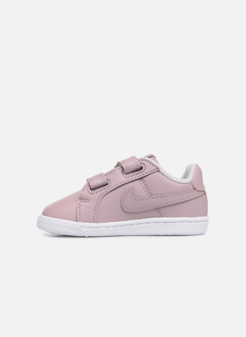 Trainers Nike Nike Court Royale (Tdv) Pink front view