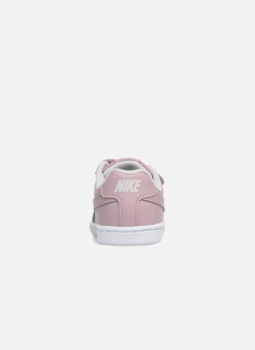 Trainers Nike Nike Court Royale (Tdv) Pink view from the right