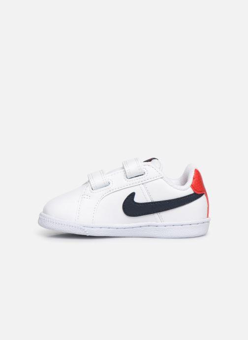 Sneaker Nike Nike Court Royale (Tdv) weiß ansicht von vorne