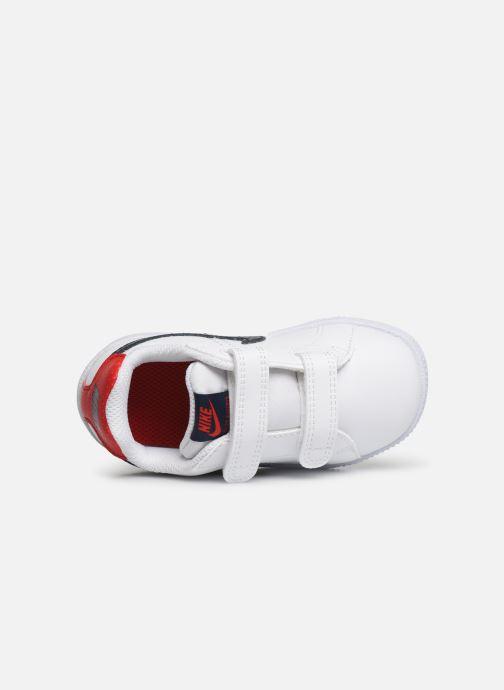 Sneakers Nike Nike Court Royale (Tdv) Wit links