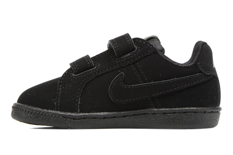 Baskets Nike Nike Court Royale (Tdv) Noir vue face