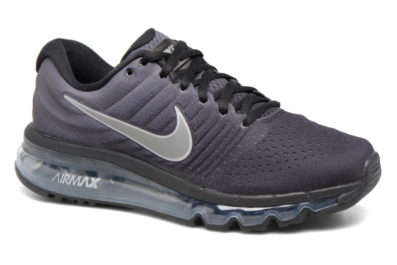 Baskets Nike Nike Air Max 2017 (Gs) Gris vue détail/paire