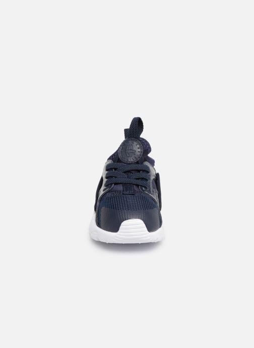 Sneakers Nike Nike Huarache Run Ultra (Td) Azzurro modello indossato