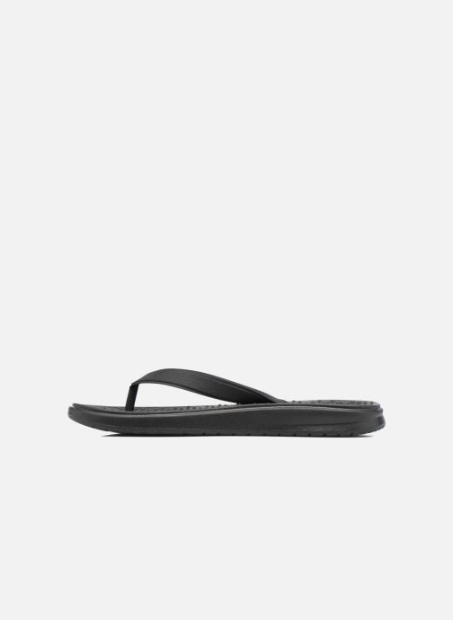 Flip flops Nike Nike Solay Thong (Gs/Ps) Black front view
