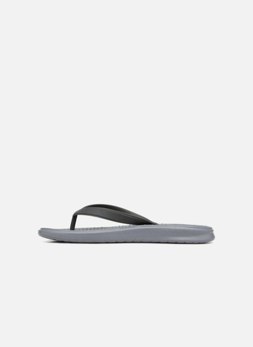 Flip flops Nike Nike Solay Thong (Gs/Ps) Grey front view