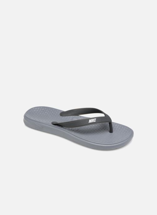 Tongs Nike Nike Solay Thong (Gs/Ps) Gris vue détail/paire
