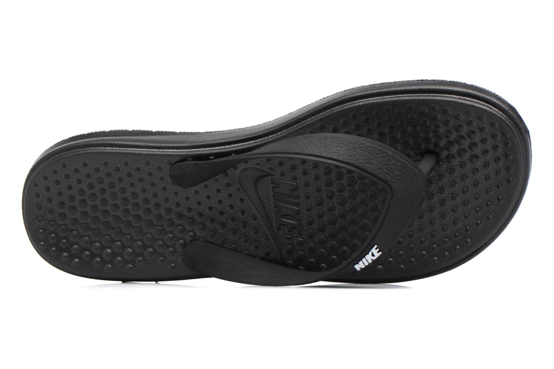 Tongs Nike Nike Solay Thong (Gs/Ps) Noir vue gauche