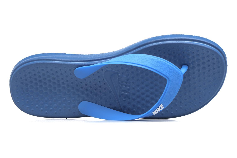 Tongs Nike Nike Solay Thong (Gs/Ps) Bleu vue gauche