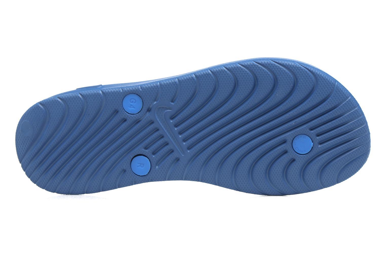 Tongs Nike Nike Solay Thong (Gs/Ps) Bleu vue haut