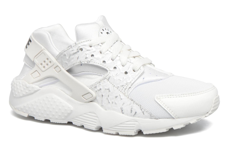 Sneakers Nike Nike Huarache Run Se (Gs) Hvid detaljeret billede af skoene