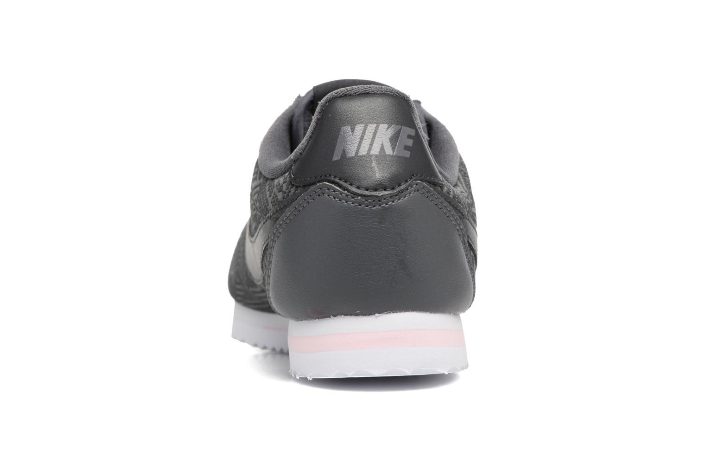 Baskets Nike Classic Cortez Se (Gs) Gris vue droite