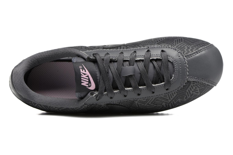 Baskets Nike Classic Cortez Se (Gs) Gris vue gauche