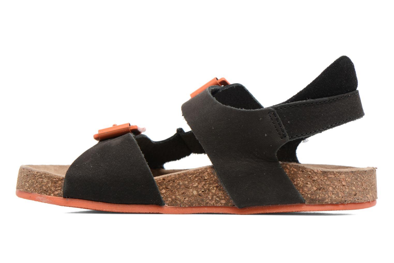 Sandaler Kickers Nanti Sort se forfra
