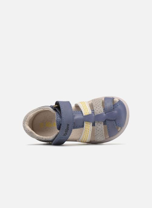 Sandalen Kickers Platiback Blauw links