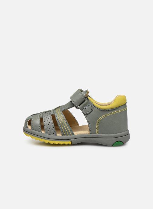 Sandales et nu-pieds Kickers Platiback Vert vue face