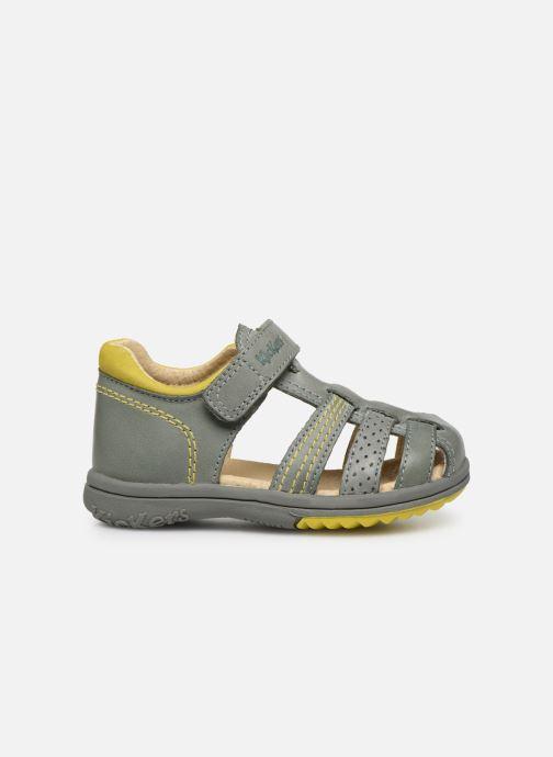 Sandales et nu-pieds Kickers Platiback Vert vue derrière