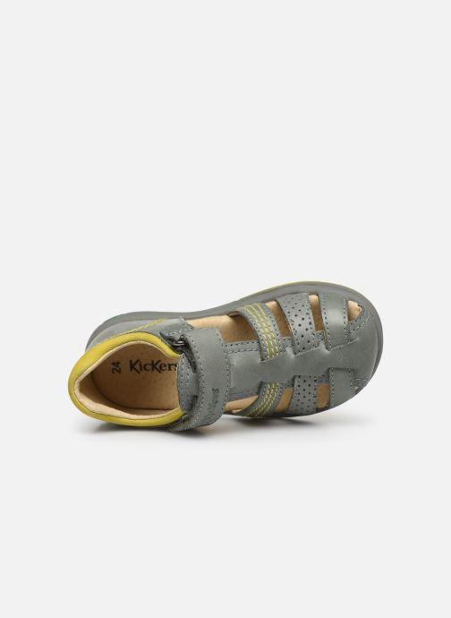 Sandales et nu-pieds Kickers Platiback Vert vue gauche