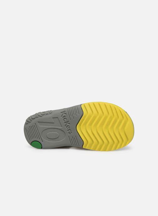 Sandales et nu-pieds Kickers Platiback Vert vue haut