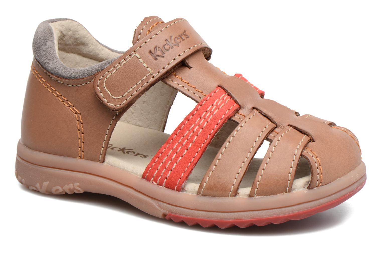 Sandalen Kickers Platiback beige detaillierte ansicht/modell
