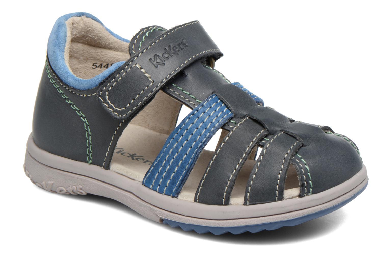 Sandali e scarpe aperte Kickers Platiback Azzurro vedi dettaglio/paio