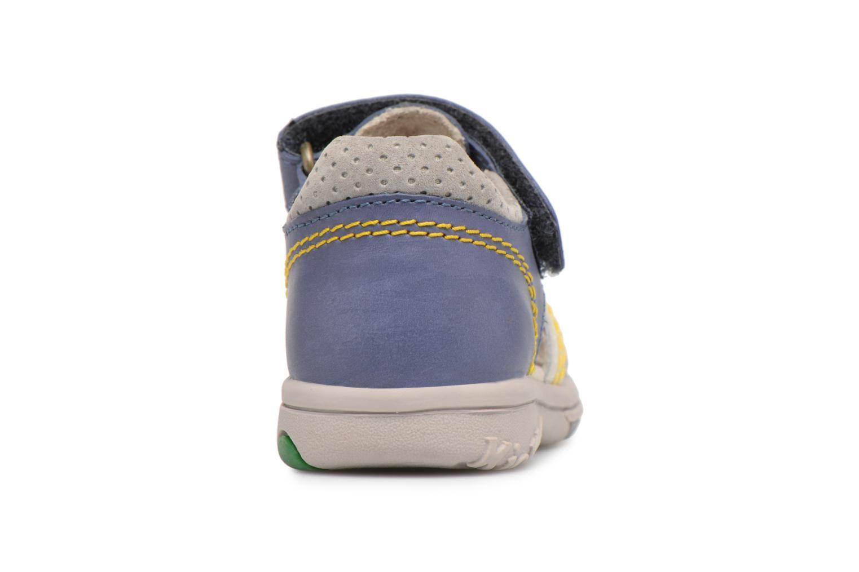 Sandalen Kickers Platiback Blauw rechts