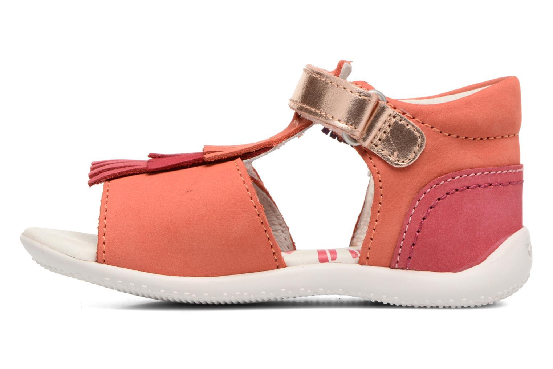 Sandalen Kickers Bihilana rosa ansicht von vorne