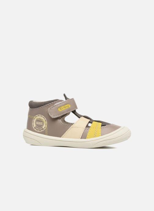 Sandalen Kickers Zohan Grijs achterkant
