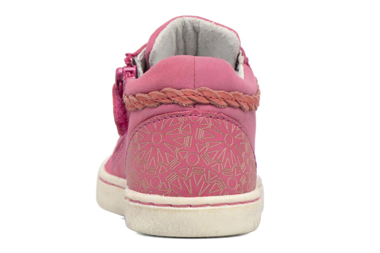 Sneakers Kickers Lylou Pink Se fra højre