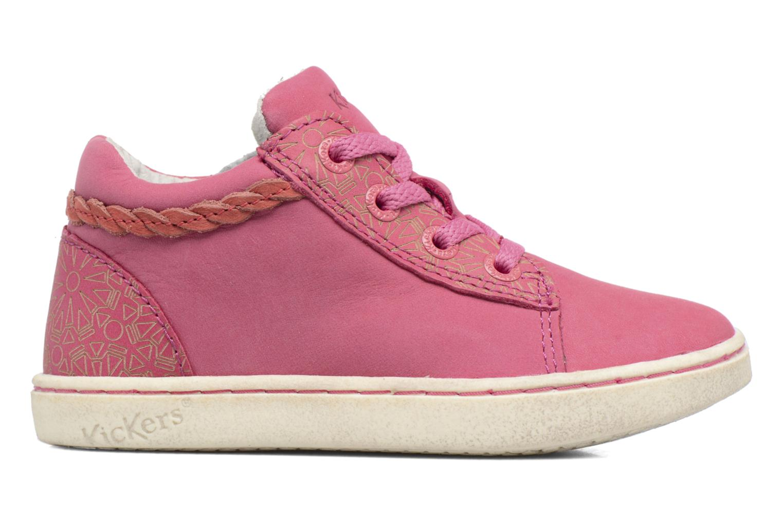 Sneakers Kickers Lylou Pink se bagfra