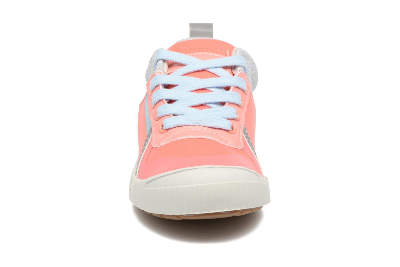 Baskets Kickers Ziguy Rose vue portées chaussures