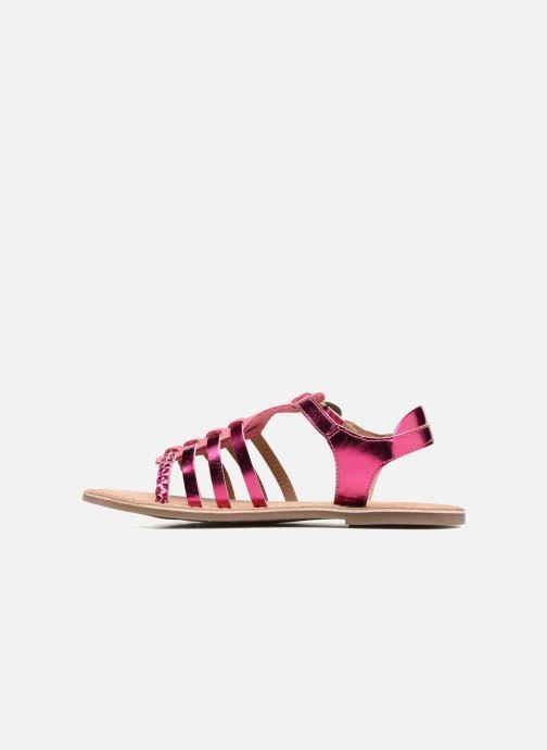 Sandalen Kickers Diwen Roze voorkant
