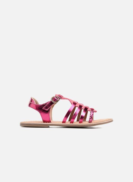 Sandalen Kickers Diwen Roze achterkant