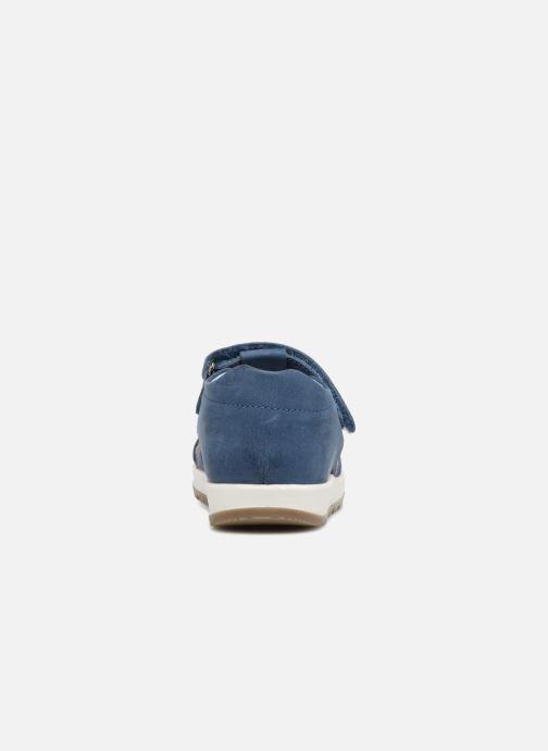 Sandalen Kickers Solaz Blauw rechts