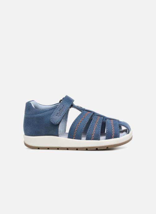 Sandalen Kickers Solaz Blauw achterkant