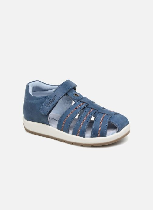 Sandalen Kickers Solaz Blauw detail