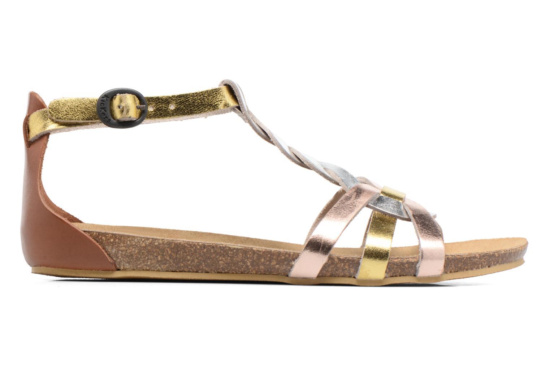 Sandali e scarpe aperte Kickers Bomtardes Oro e bronzo immagine posteriore
