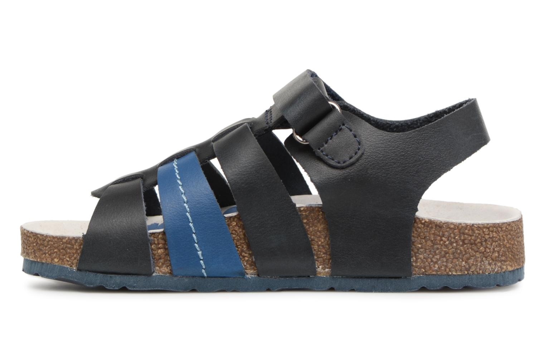 Sandalen Kickers Magiteam blau ansicht von vorne