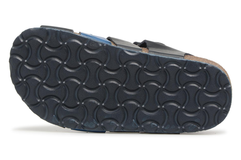 Sandalen Kickers Magiteam blau ansicht von oben
