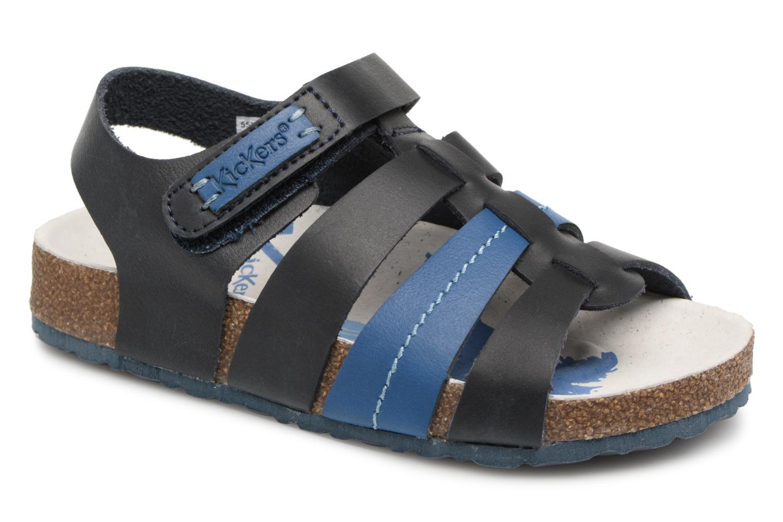 Sandalen Kickers Magiteam blau detaillierte ansicht/modell