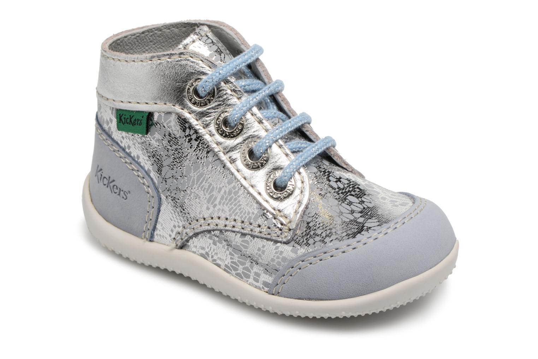 Zapatos con cordones Kickers Boetik Azul vista de detalle / par