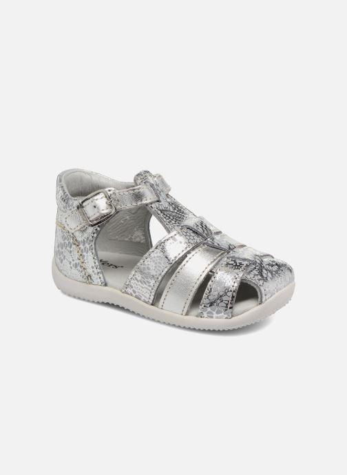 fd422b163211 Sandaler Kickers Bodelere Sølv detaljeret billede af skoene