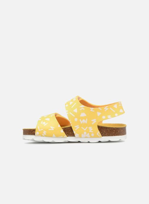 Sandales et nu-pieds Kickers Summerkro Jaune vue face