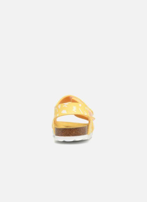 Sandales et nu-pieds Kickers Summerkro Jaune vue droite