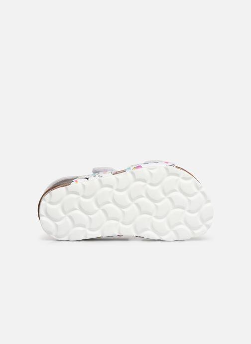 Sandales et nu-pieds Kickers Summerkro Blanc vue haut